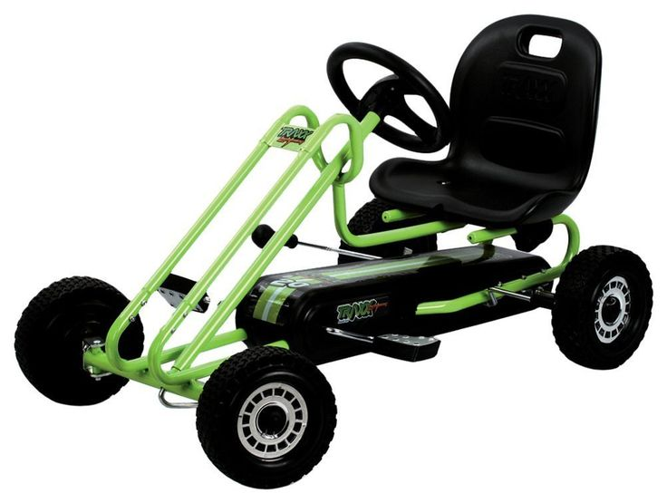 Hauck Lightning Go Kart - Green/Black
