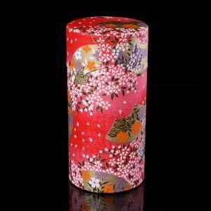 boîte à thé japonaise en papier Washi 1133V