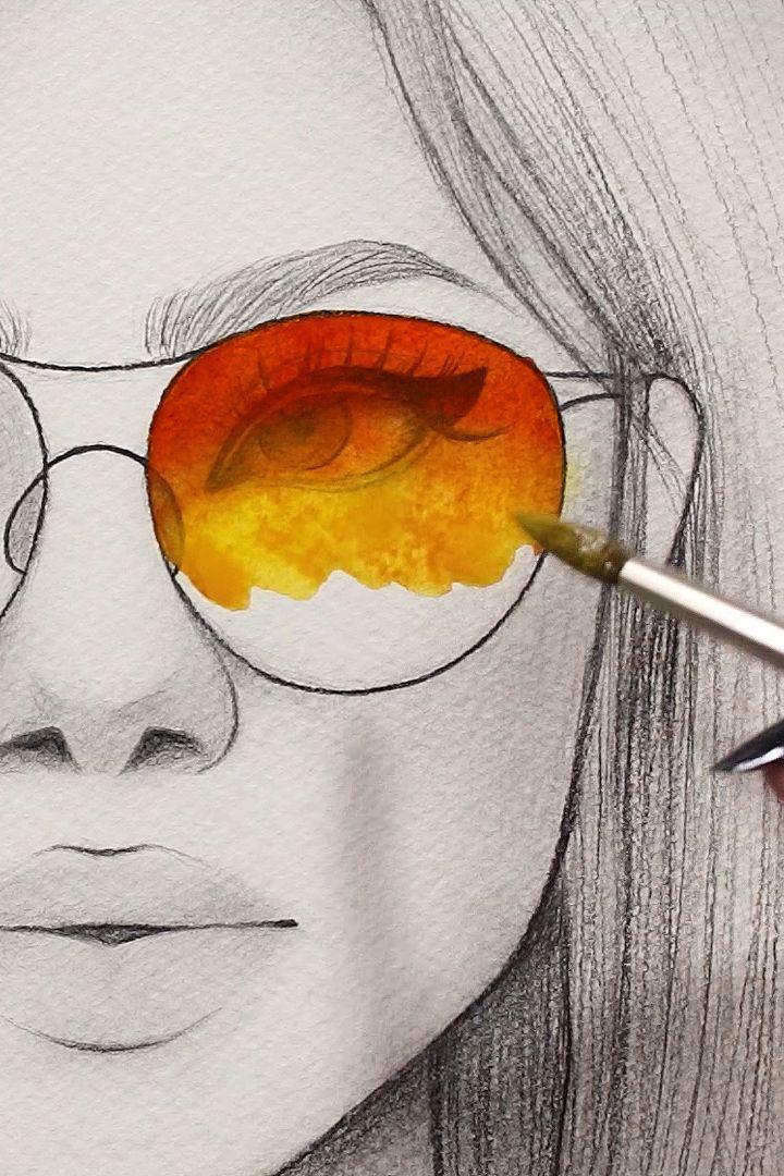 10 satisfying watercolor videos – #art #satisfying…