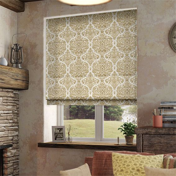 Sofia Neutral Roman Blind from Blinds 2go