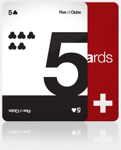 Helveticards by Ryan Myers. What would we do without Helvetica?