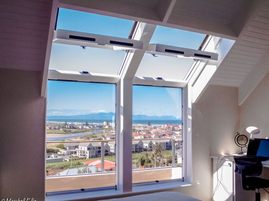 Roof Window & Skylight combination. Expanding the view and great amount of natural light and ventilation. #TSRW #capetown #skylights
