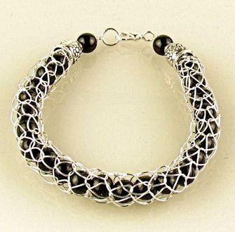 French Knitting Bracelet 1
