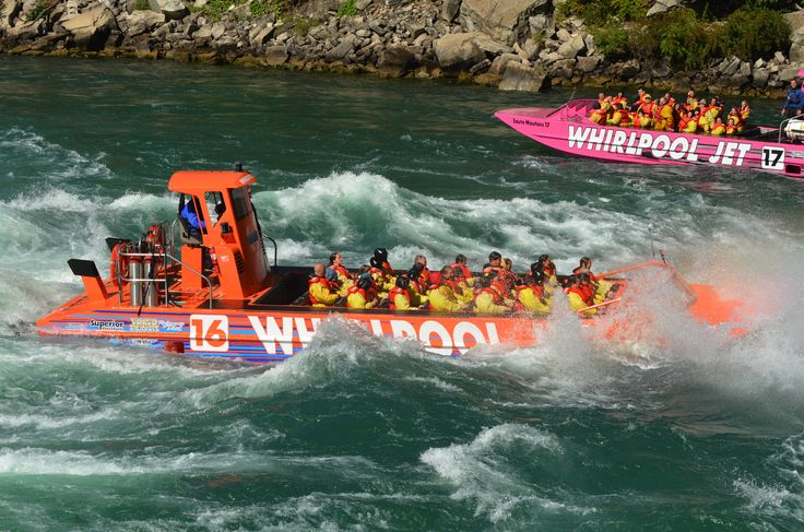 What an adventure! Whirlpool-jet-boat