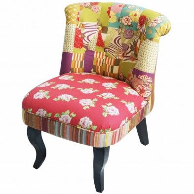 Best Fauteuils Crapauds Images On Pinterest Armchairs Couches - Fauteuil crapaud multicolore