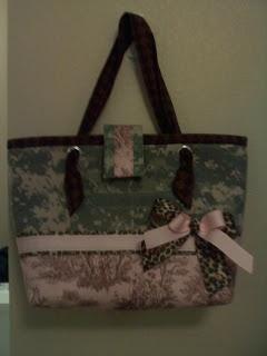 Acu purse I made trying to bust my stash
