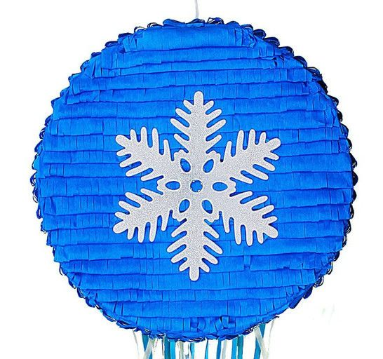 Frozen Snowflake Pull Pinata for your kids birthday party! Buy at pinatas.com, home of custom pinatas of the highest quality and the widest selection of pinatas on the internet.