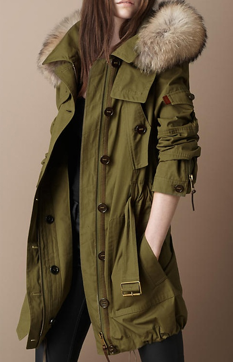Burberry, I hate you. Why must all your jackets be my favorite?