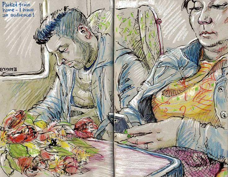 Personal Sketchbooks – Lynne Chapman