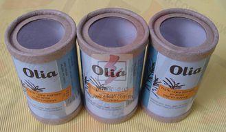 Chine Emballage récupérable de tube de cadeau pour la nourriture, récipients de papier de cylindre fournisseur