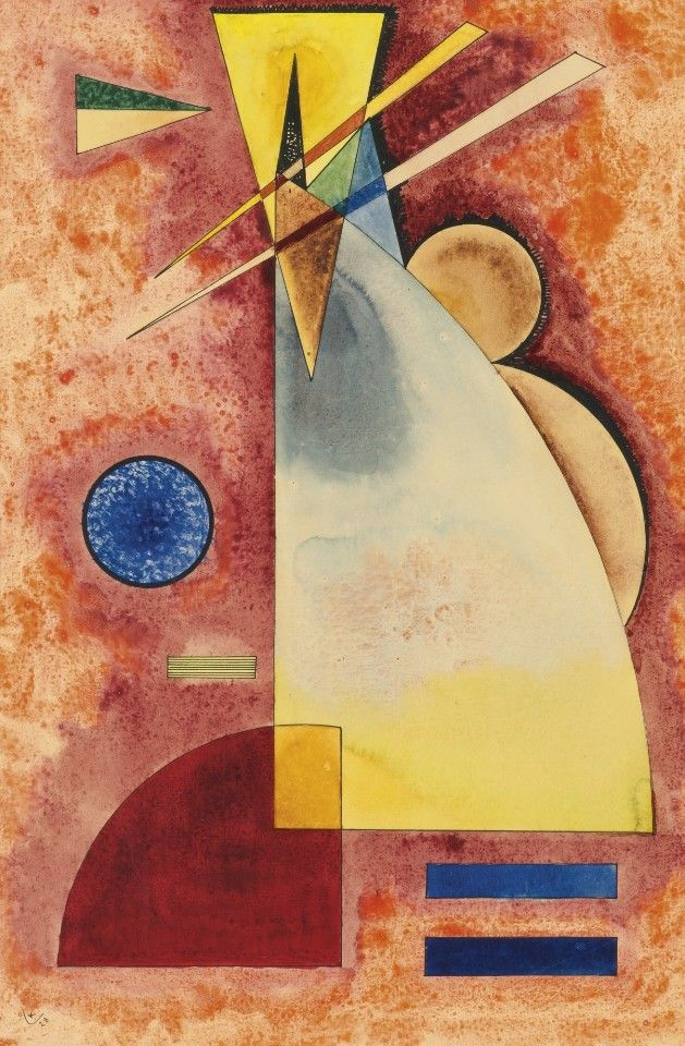 Ineinander (Intermingling)(1928) – Wassily Kandinsky