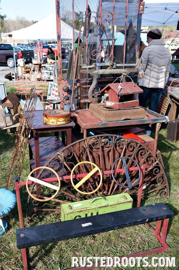 North Carolina's Largest Junk Market #RustedRoots #HillsboroughNC #JunkMarket #JunkShow