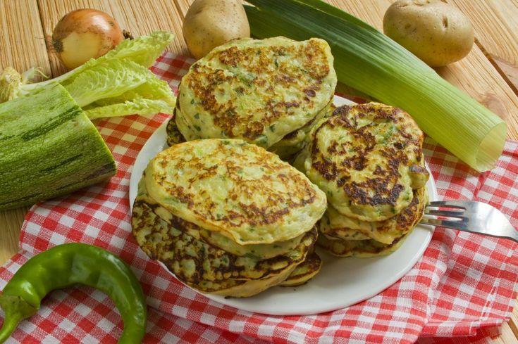 Картофельные оладьи с кабачками. Пошаговый рецепт с фото - Ботаничка.ru