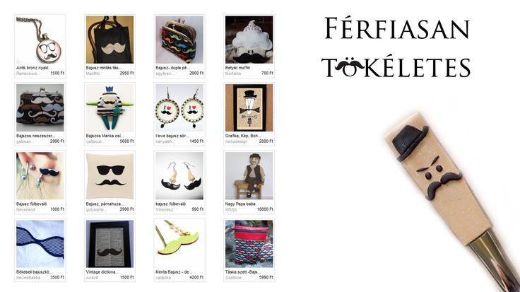 Mityi Férfiasan tökéletes című szemezgetője Illusztráció: Apolka - #Bajusz kiskanál http://www.meska.hu/ProductView/index/770050 #moustache #handmade #funny