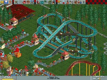 90s kids: Who remembers the original Roller Coaster Tycoon?