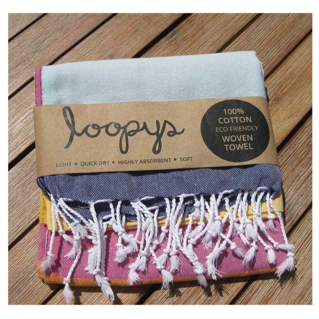 Rainbow Candy Stripe Turkish Beach Towel