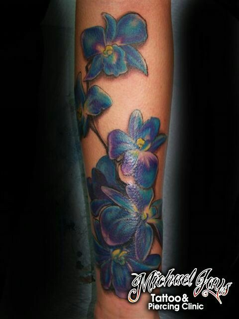 25 best beautiful orchid tattoo designs images on pinterest orchid tattoo design tattoos and. Black Bedroom Furniture Sets. Home Design Ideas