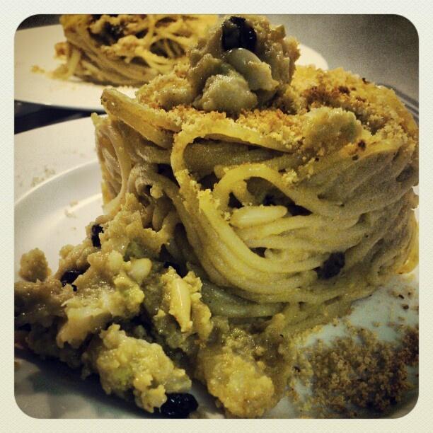 Pasta chi vrocculi arriminati. Buona cena a tutti! #cucinasiciliana #igerspalermo - taken by @mangiarechepassione - via http://instagramm.in