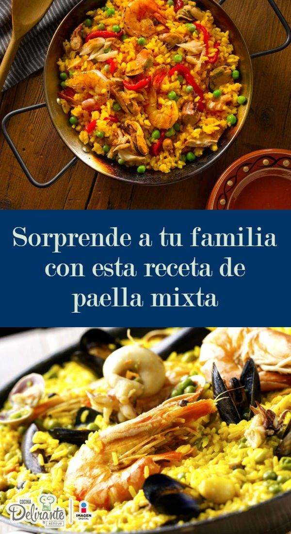 receta de paella mixta facil | CocinaDelirante