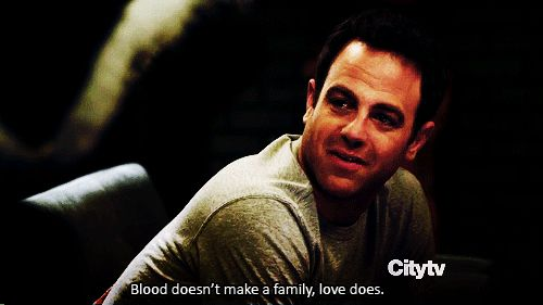 "Cooper Freedman ""Blood doesn't make family, love does."" Private Practice Quotes"