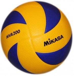 Piłka siatkowa Mikasa MVA200 - Piłka siatkowa zatwierdzona przez F.I.V.B. jako oficjalna piłka na Igrzyska Olimpijskie Pekin 2008, Londyn 2012, Mistrzostw Świata oraz rozgrywki Ligi Światowej. $58