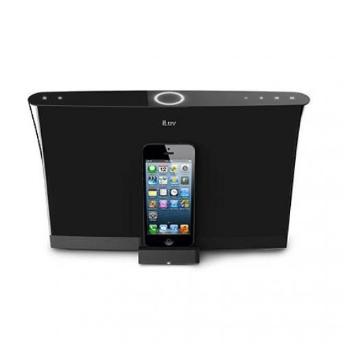 iLuv Aud 5 High-Fidelity Speaker Dock for Apple iPod Touch and iPhone 5 with Lightning Connector