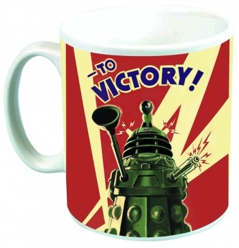 Dalek to victory -  taza ceramica -  doctor who #DoctorWho #DrWho 9,95€