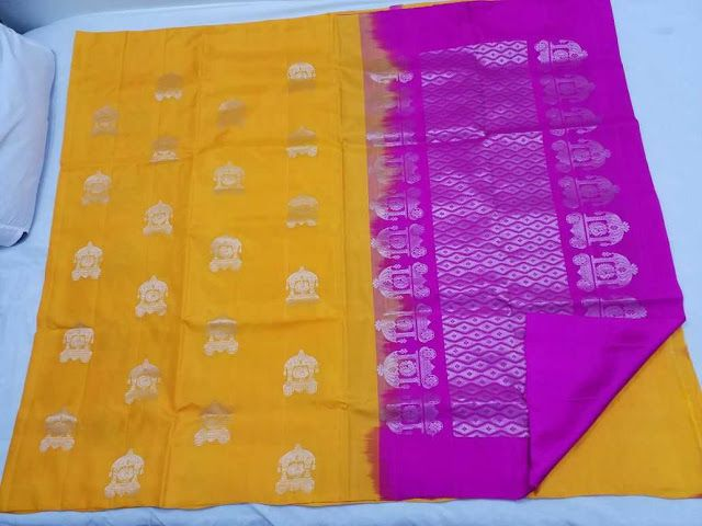 Animals weaving handloom soft silks sarees | Buy Online Softsilk sarees | Elegant Fashion Wear