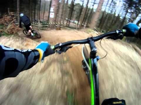 Rogate downhill run, go pro cam
