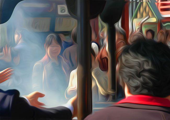 Incense for healing at Asakusa