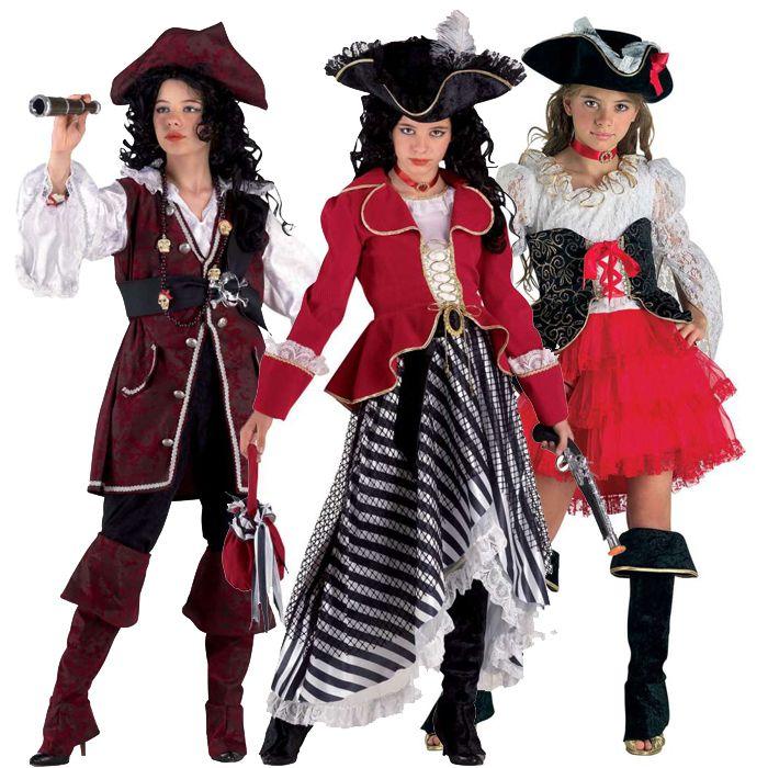 αποκριάτικες στολές για κορίτσια - στολές πειρατίνας και κουρσάρισσας