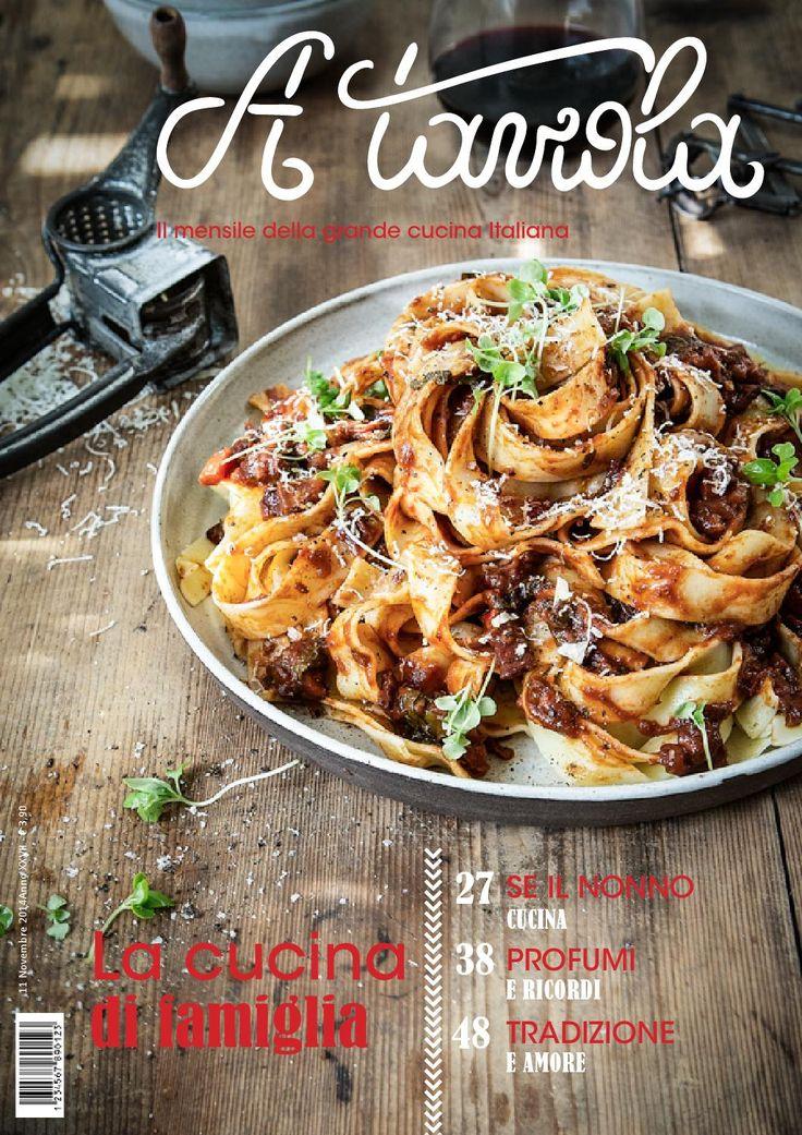 2° Restyling del mensile di cucina italiana A Tavola.
