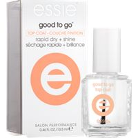 good to go by essie - rapid dry + shine