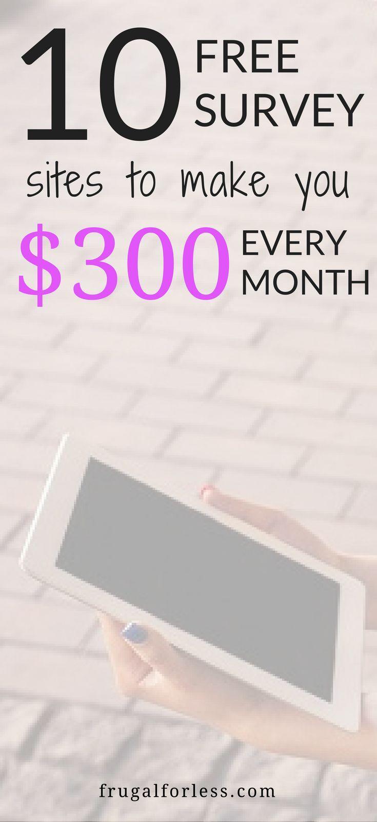 Make Money Online | Survey Sites That Pay | Work From Home | Work From Home Jobs | Surveys For Money