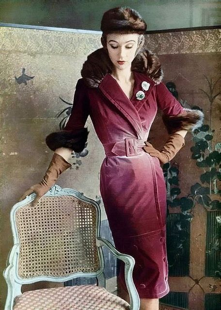 Jacques Fath dress 1950s
