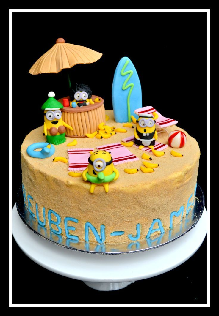33 best Cakes images on Pinterest Despicable me Birthdays and