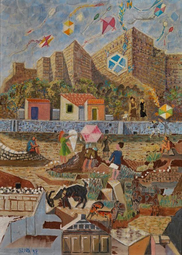 Χαρταετοί στην Ακρόπολη
