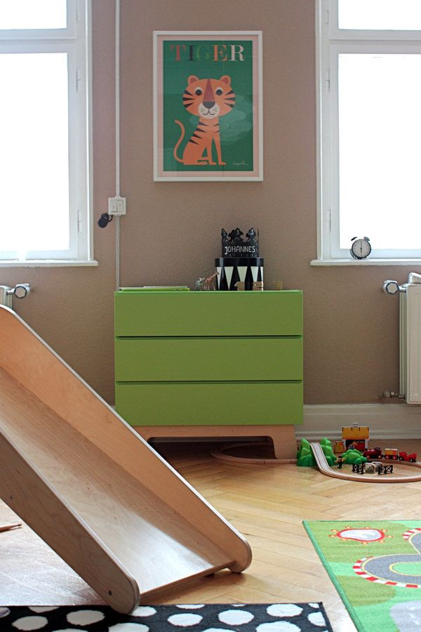13 best wohnen2 images on Pinterest Child room, Room kids and Baby - wandgestaltung wei braun