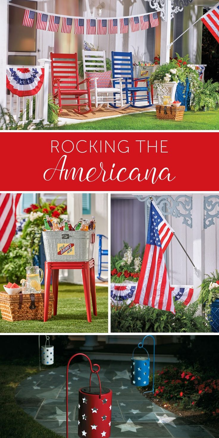 67 best 4th of july party images on pinterest outdoor decor