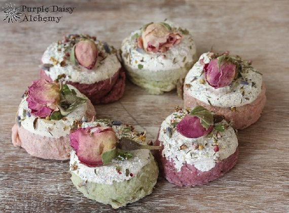 FAERIE CAKES, Offering stones, Faerie Magick, Beltane, Agriculture, Creativity, Manifestation, Transformation, May Day, Shabby Chic Decor