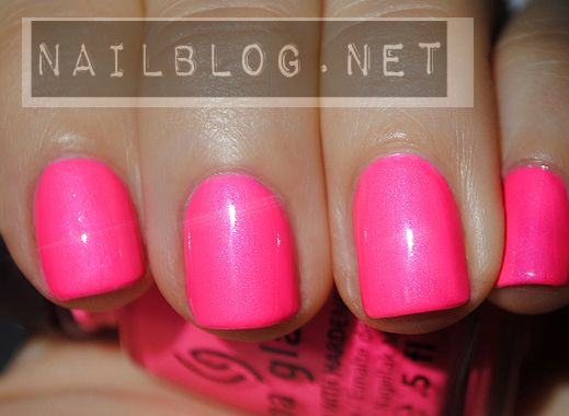 China Glaze Voltage Neon Pink Nail Polish