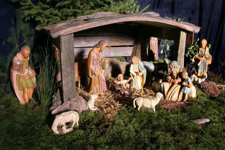 Weihnachts-Krippe/Nativity scene