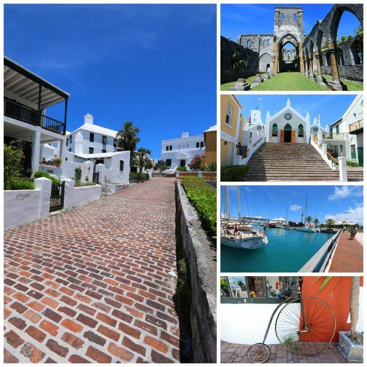 St. George's, Bermuda.  A world heritage site full of history, fascinating architecture, and a breathtaking harbor. #travel #bermuda #UNESCO daringgourmet.com