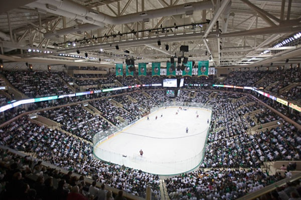 Ralph Engelstad Home of the Fighting Sioux #Hockey #Sioux #Forever
