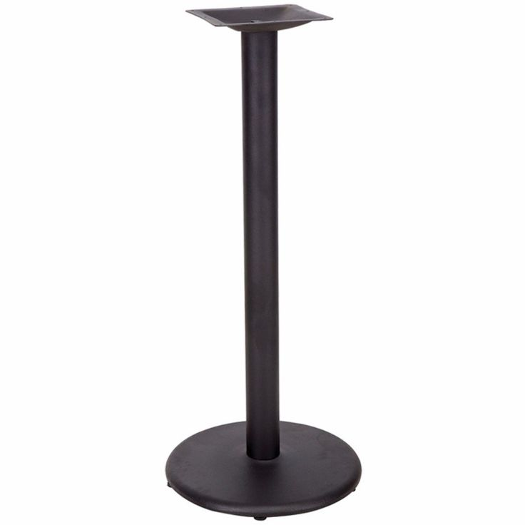 Restaurant Table Base with Bar Height Column