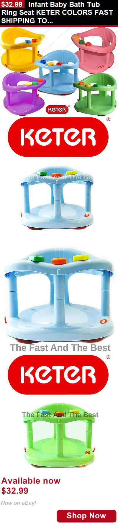 Baby Bath Tub Seats And Rings: Infant Baby Bath Tub Ring Seat Keter Colors Fast Shipping To Usa New In Box BUY IT NOW ONLY: $32.99