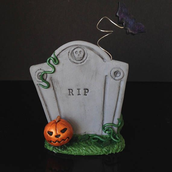 Halloween decorations clay ideas fimo/polymer clay home  office - halloween decorations for the office