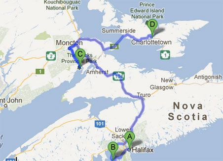 Halifax—Peggys Cove—Bay of Fundy—Charlottetown (The Maritimes)