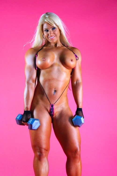 Free porn muscle woman