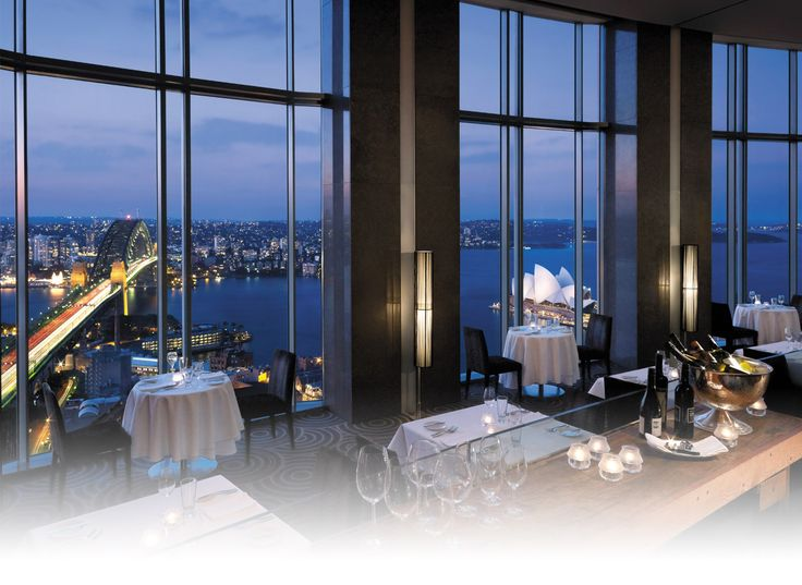 Blu Bar Level 36 of Shangri-La Fancy cocktails with a harbour view